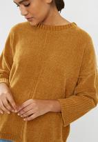 dailyfriday - Raw seam chenille knit