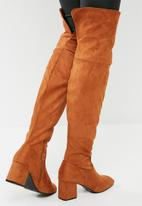 dailyfriday - Over the knee boot - tan