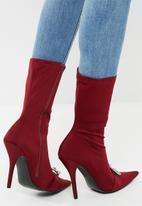 dailyfriday - Stiletto boot - burgundy