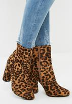 dailyfriday - Animal print boot - leopard