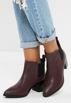 dailyfriday - Chelsea boot - burgundy