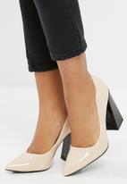 dailyfriday - Block heel - nude