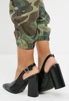 dailyfriday - Slingback block heel - black