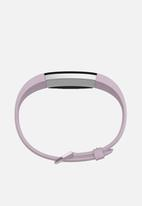 Fitbit - Fitbit alta HR leather accessory band