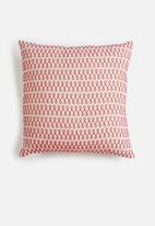 Sixth Floor - Reese embroidered cushion cover