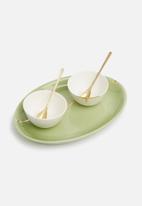 Urchin Art - Nude tapas bowl set