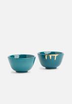 Urchin Art - Lapis tapas bowl set
