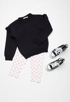 dailyfriday - Kids frill sleeve knit