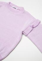 dailyfriday - Kids frill sleeve knit