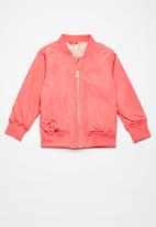 name it - Kids girls Mary bomber jacket