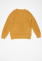 basicthread - Kids chunky raglan knit
