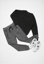 basicthread - Kids boys zip detail biker joggers