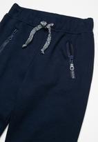 basicthread - Kids zip detail biker joggers