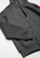 basicthread - Kids boys fleece zip through hoodie