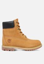 """Timberland - 6"""" premium waterproof boot - wheat yellow"""