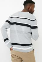 Jack & Jones - Broke crew neck knit