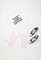 dailyfriday - Kids slogan girls tee