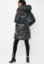 ONLY - Edina long nylon coat