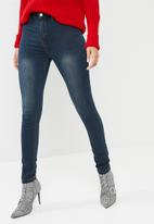 Missguided - Lawless high waisted super stretch skinny