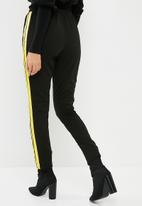 Missguided - Double side stripe jogger