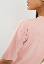 Missguided - Havana' slogan T-shirt - pink