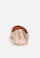 ALDO - Leather pointed pump - metallic miscellaneous