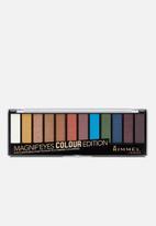 Rimmel - Magnif'Eyes Multi Eye Shadow Palette - Bold