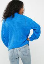 Pieces - Royce knit - blue
