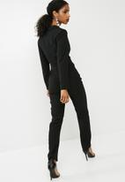dailyfriday - Longsleeve tailored jumpsuit - black