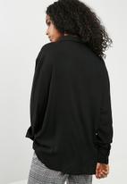 dailyfriday - Oversize shirt - black