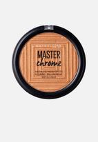 Maybelline - Master Chrome Metal Highlighter - Molten Bronze
