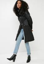 ONLY - Winnie  faux fur nylon coat