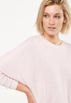Cotton On - Batwing lounge pullover - pink