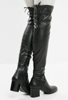 ALDO - Abiwia over the knee boot - black