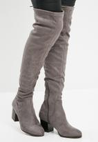 ALDO - Abiwia over the knee boot - grey