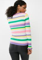 Jacqueline de Yong - Andie long sleeve pullover knit