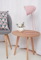 Sixth Floor - Ava desk lamp - pink