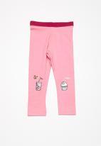 name it - Berit leggings - pink