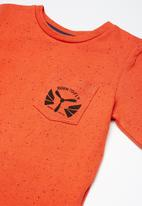 name it - Kids boys long sleeve top - orange