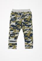 name it - Cam sweat pants - green