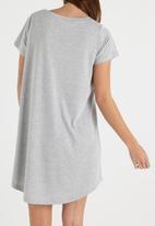 Cotton On - Tina T-shirt dress - grey marle