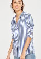 Cotton On - Rebecca shirt - blue