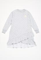 dailyfriday - Kids ruffle sweat dress