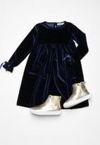 dailyfriday - Kids velvet party dress