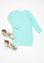 dailyfriday - Kids cabled knitwear dress