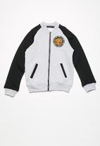basicthread - Kids boys printed fleece bomber