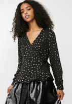 Vero Moda - Henna blouse - black