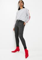 dailyfriday - Sweat top with side stripe