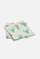 Grey Gardens - Cactus napkin set of 2