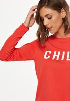 Cotton On - Tbar Tammy chopped graphic long sleeve tee